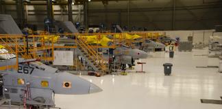F/A-18 Service Life Modification program