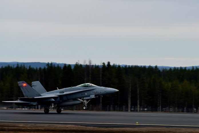 Finnish Airforce F-18