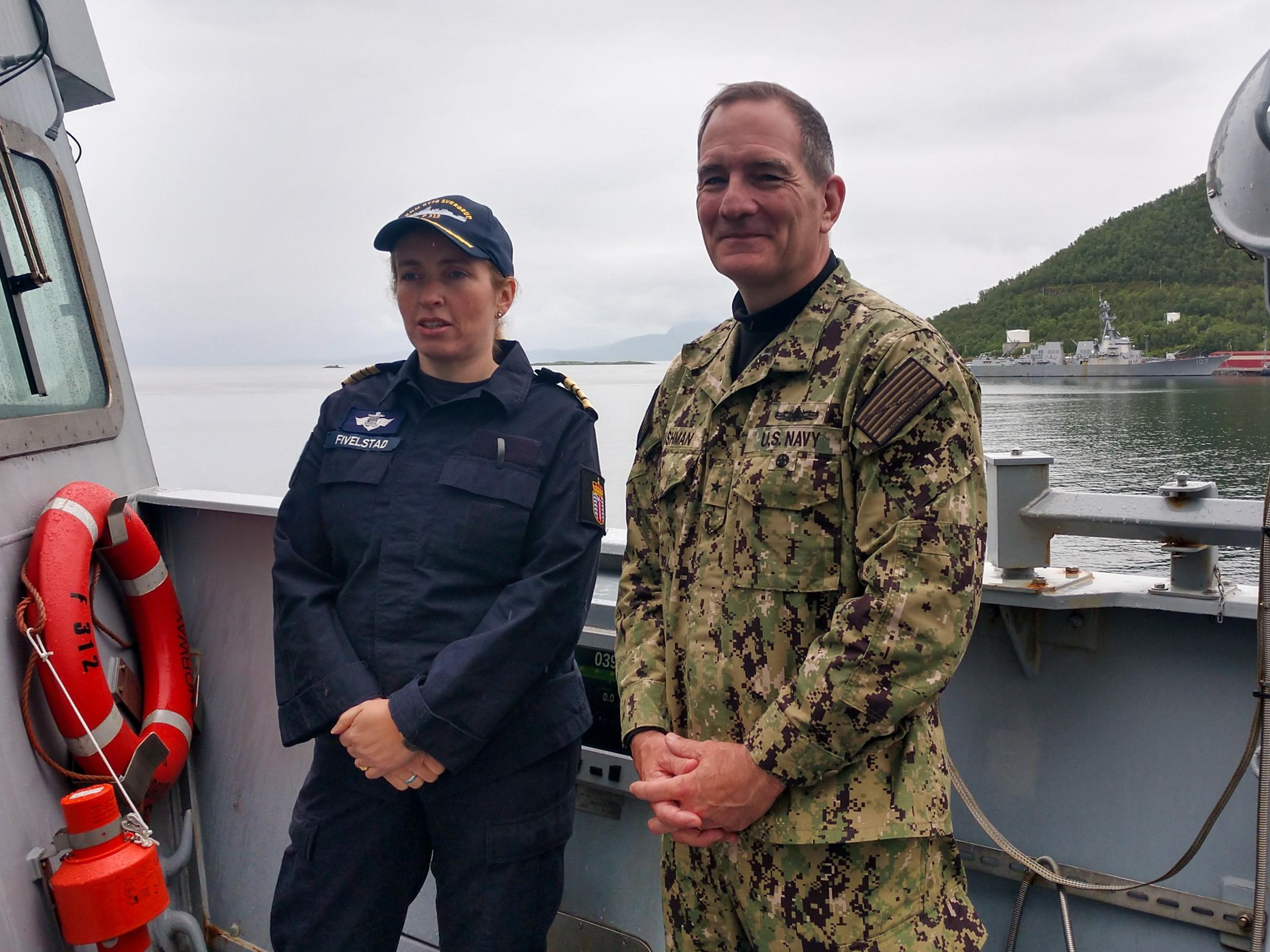 Commander of Standing NATO Maritime Group