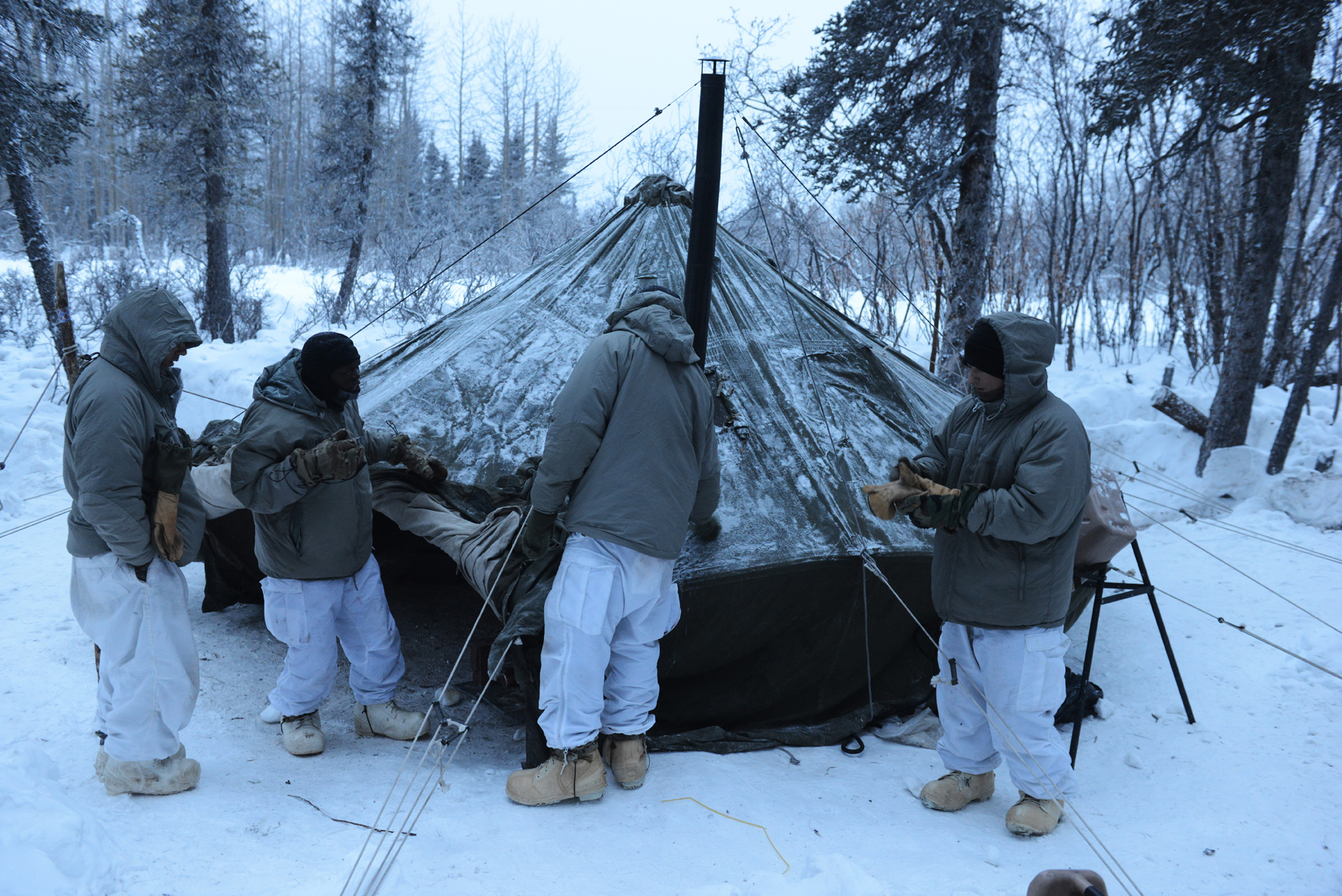 Shelter from extreme cold temperatures