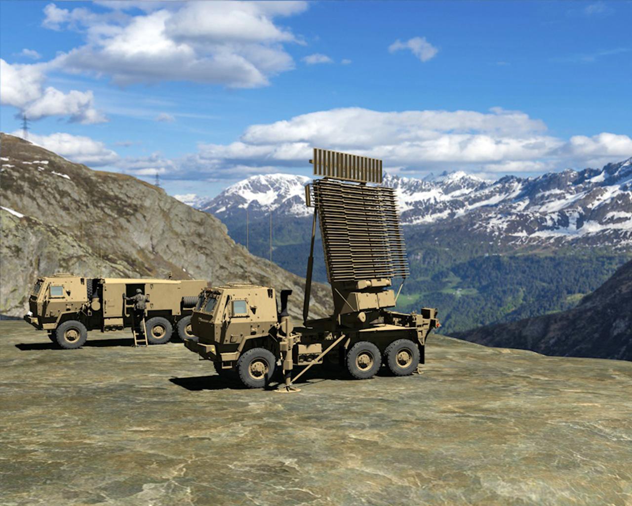 Lockheed Martin's TPS-77 multi-role radar