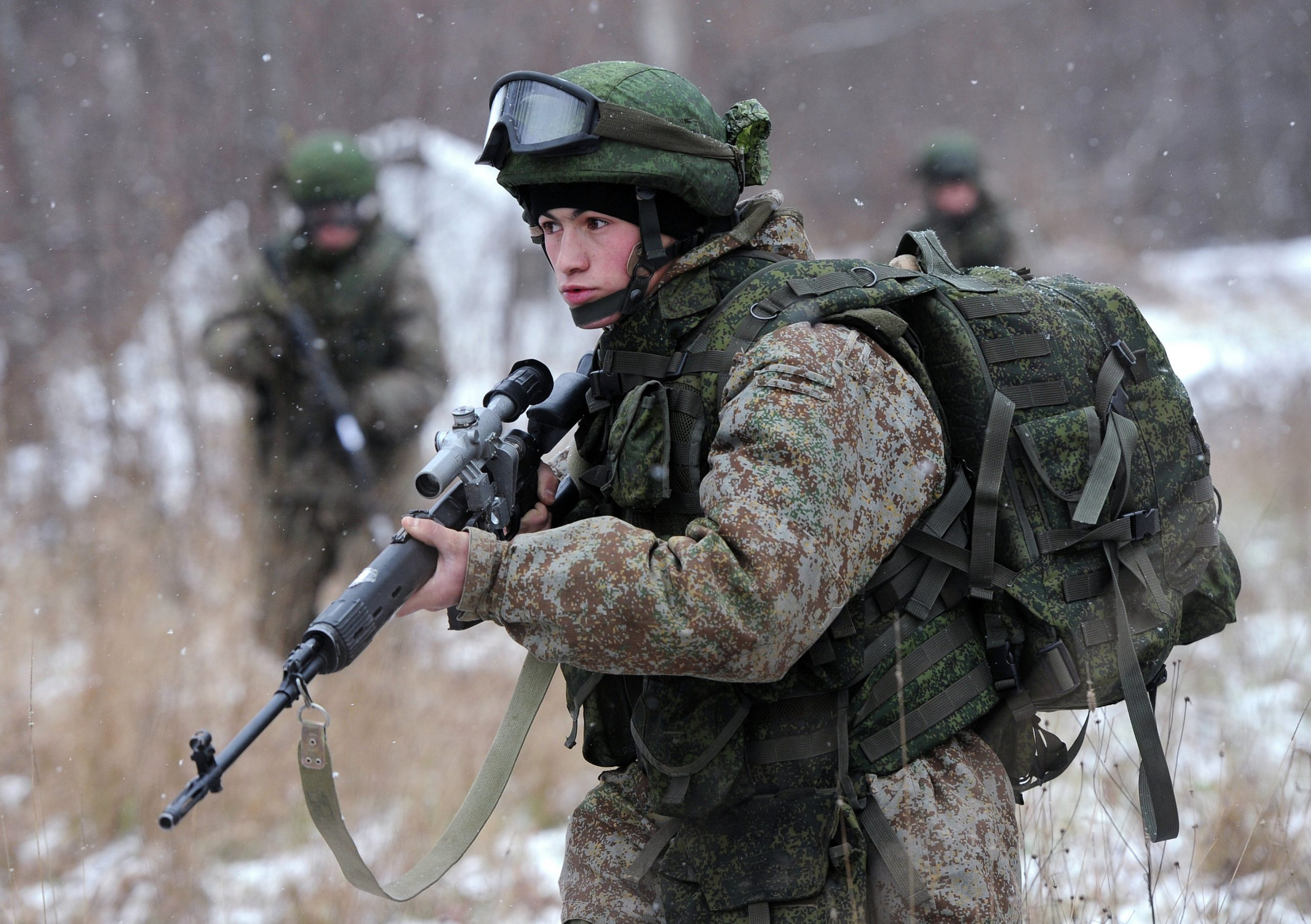 The Russian Army Ratnik combat helmet