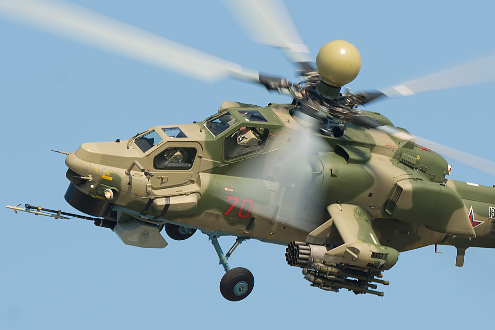 The Mi-28NM Helicopter