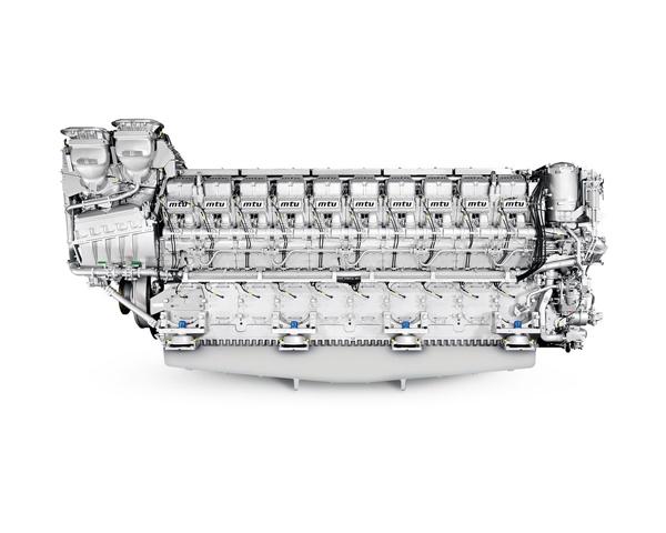 MTU 20V 8000 M71 engine