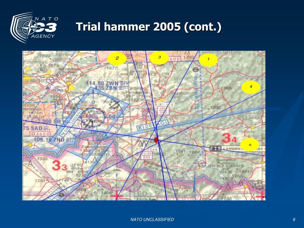 Trial Hammer 2005 (NATO)