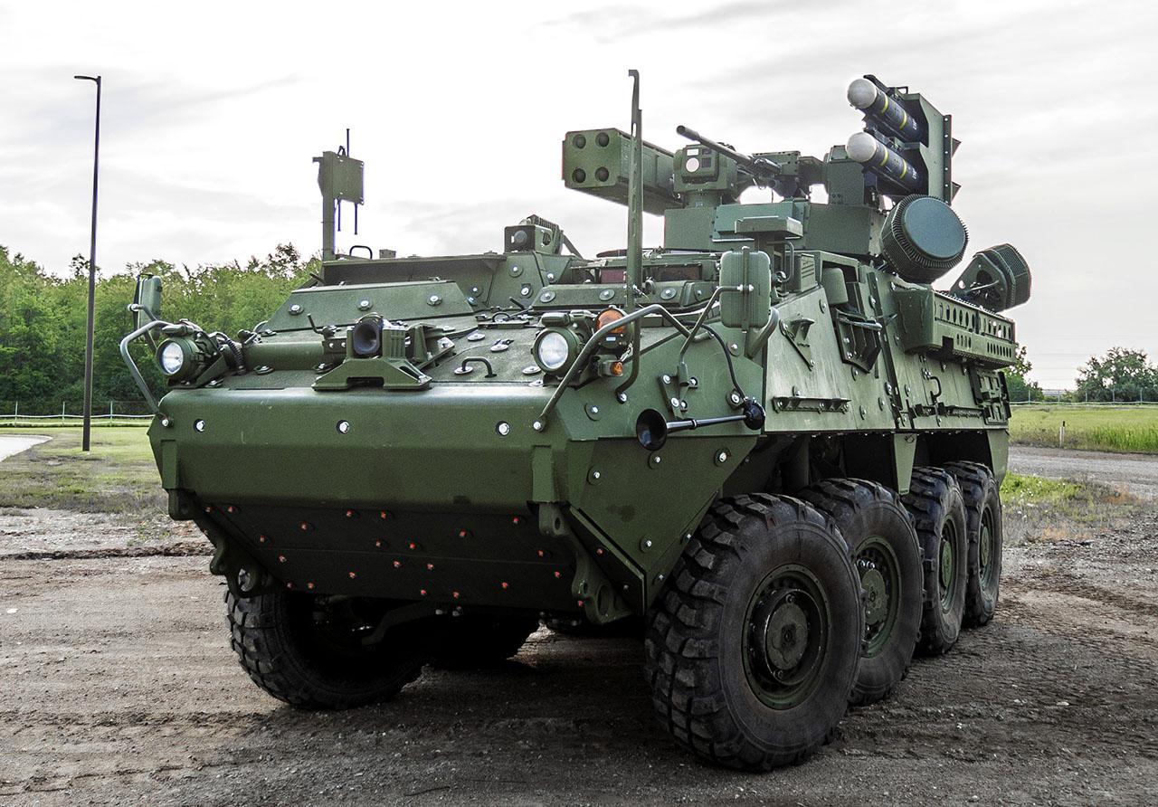 IM-SHORAD uses the Stryker 8x8 platform