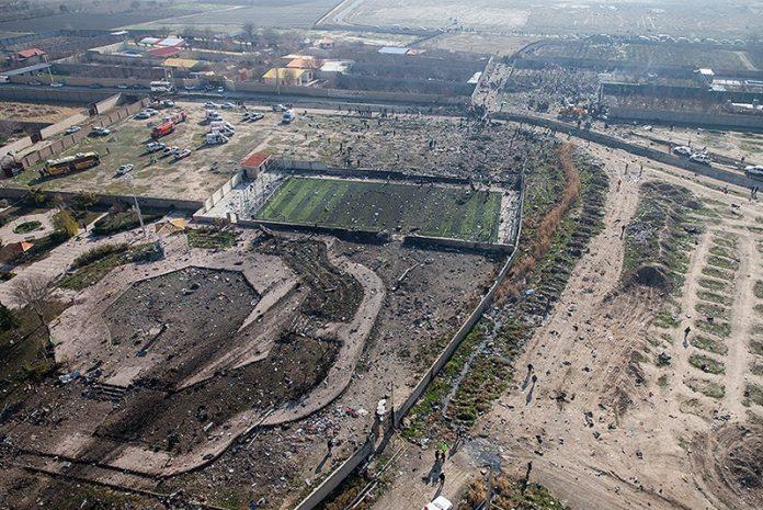 Wreckage-from-Flight-752-(Farsi-News-Agency)