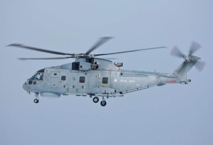 Royal Navy Merlin MK2 AW101.