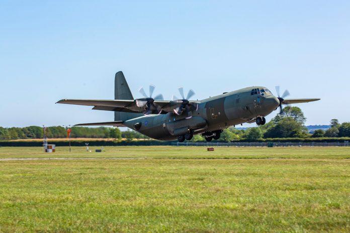 RAF C-130J