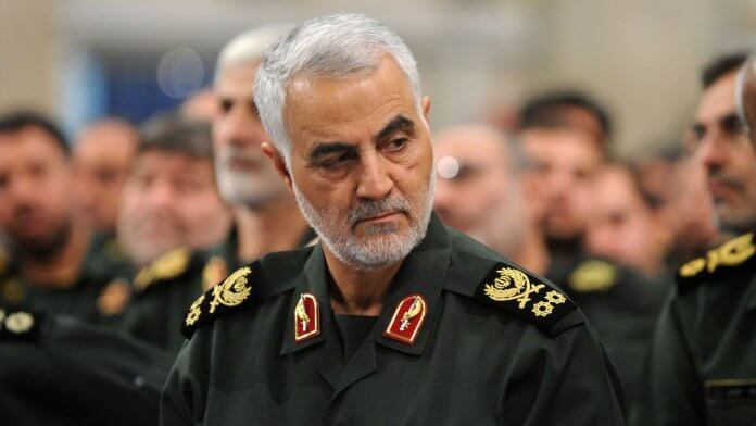 General Qassem Soleimani, commander of the Iranian Revolutionary Guard Corps Quds force