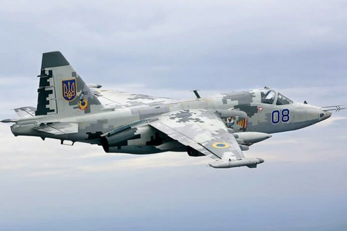 Ukrainian-Air-Force-Su-25-(Ukranian-Ministry-of-Defence)