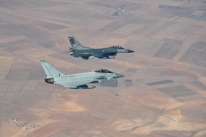 RAF-Typhoon-and-Turkish-F-16-1