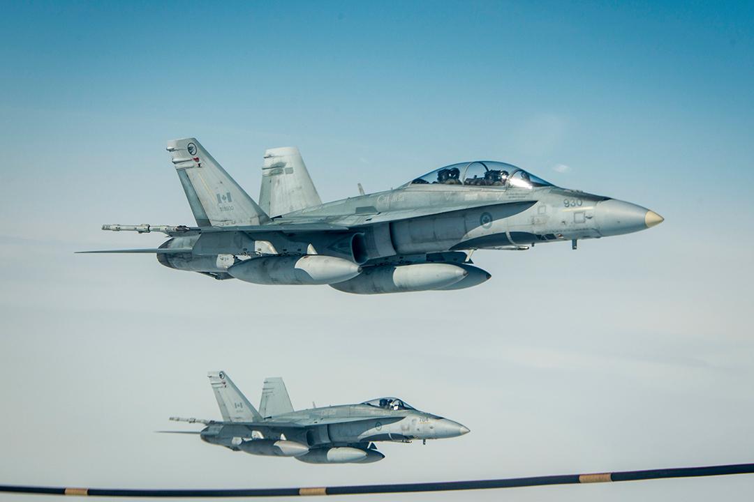 RCAF-Hornets