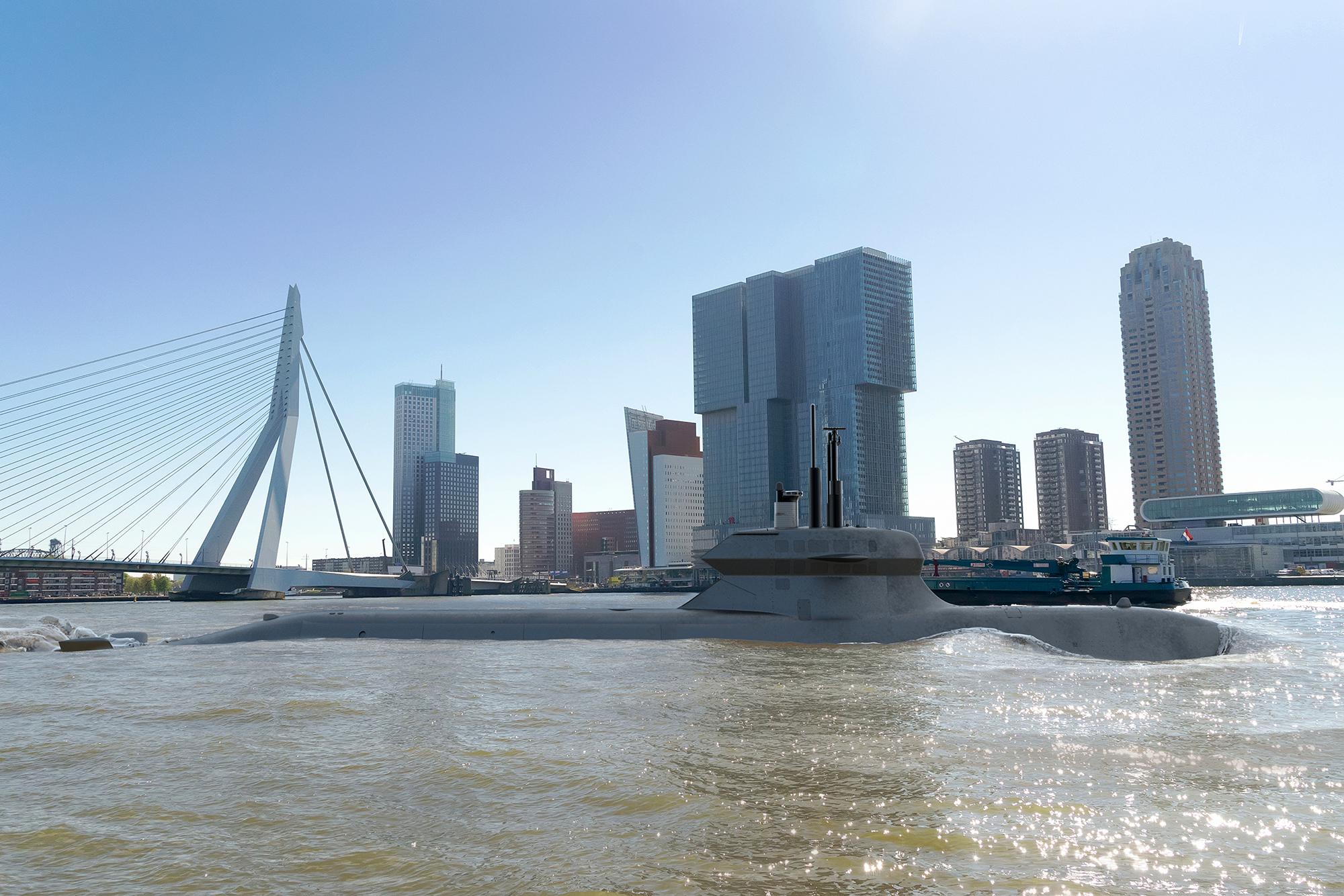 'Dutch' A26 Rotterdam_Expeditionary_submarine_Saab-Damen, Saab Damen