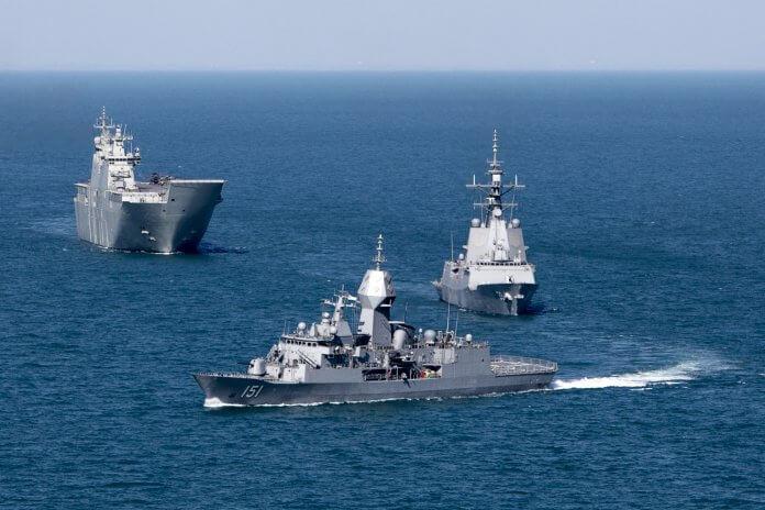 HMAS Australian Navy