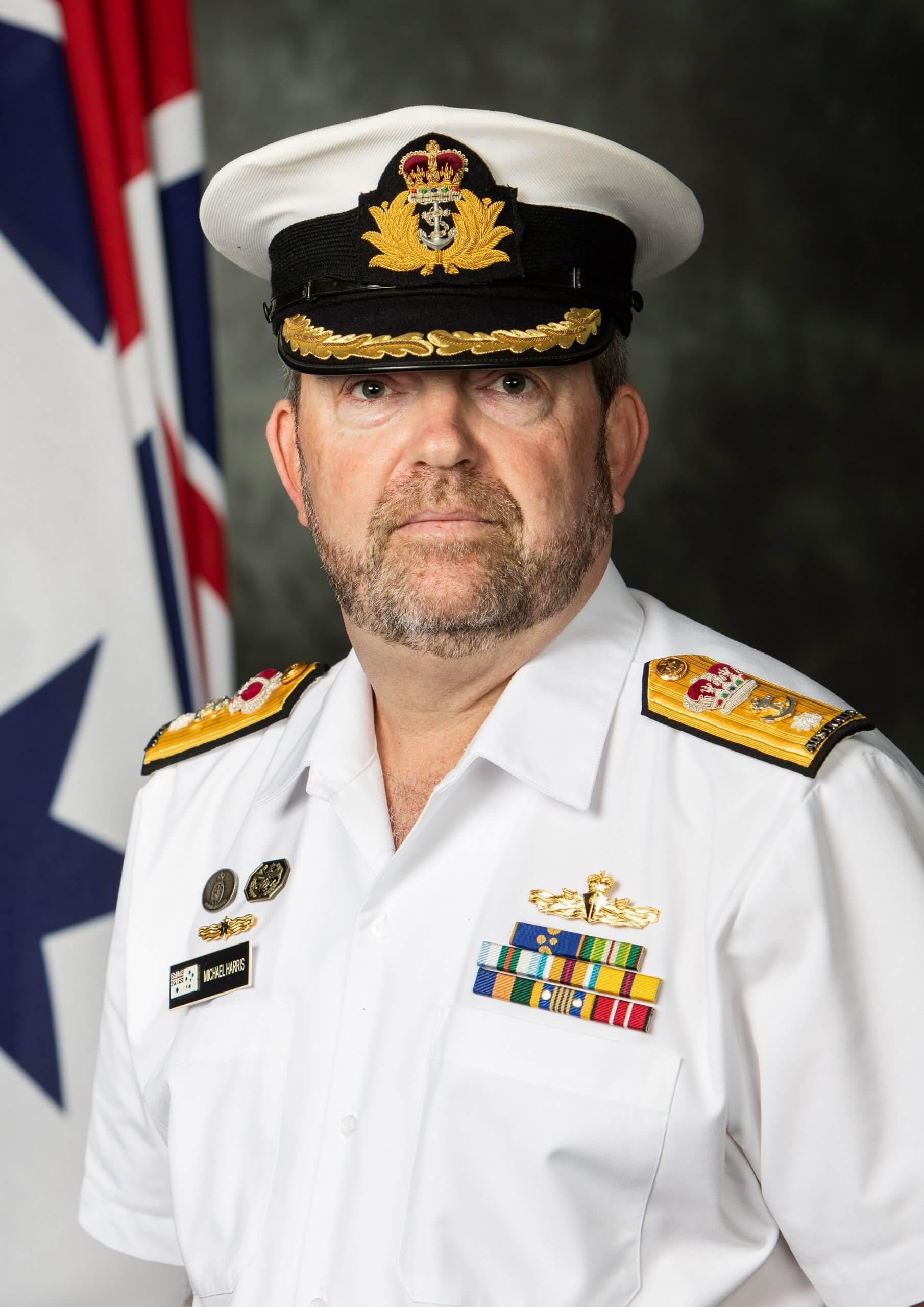 Official Portrait - CDRE Harris