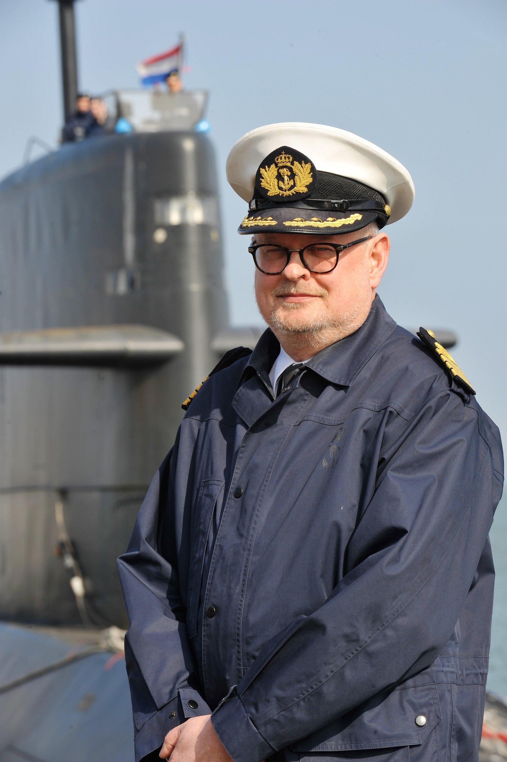 Captain Herman de Groot