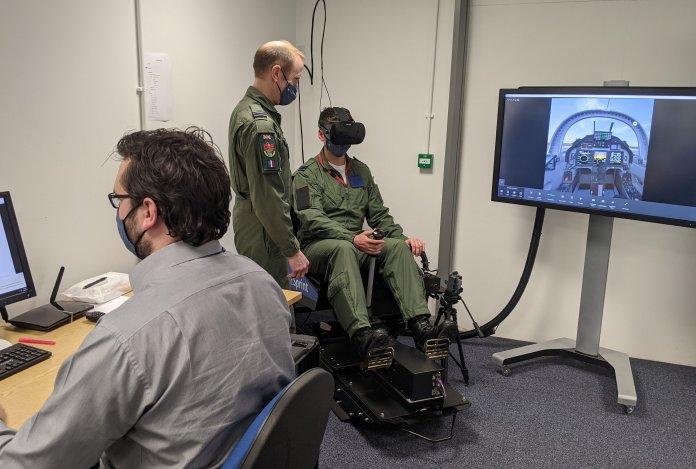 VR equipment.