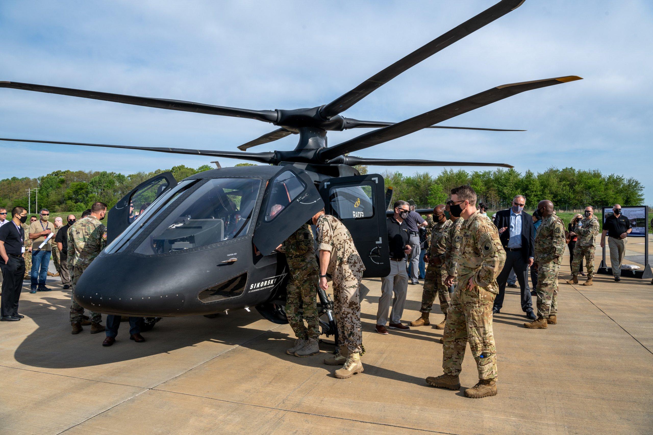 Sikorsky's S-97 Raider