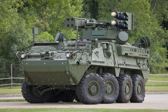 RADA radar is integrated on the US Army IM-SHORAD
