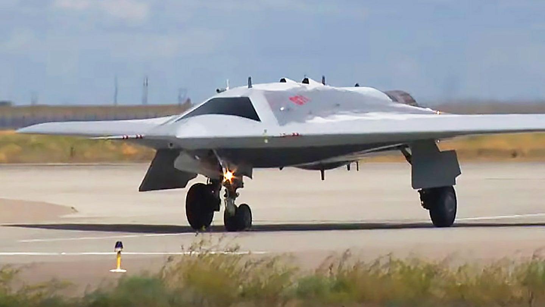 The stealthy S-70 Okhotnik UCAV