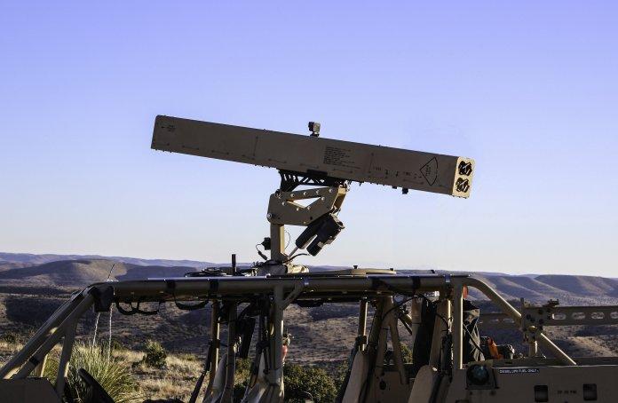 Arnold Defence FLETCHER land based 2.75-inch rocket launcher