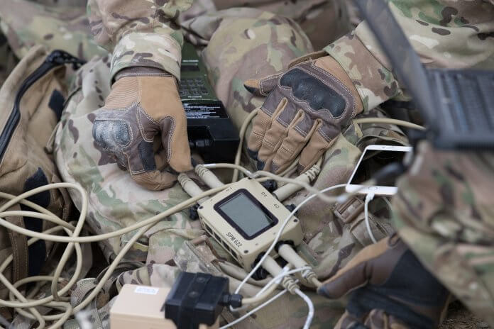 Galvion's Squad Power ManagerT intelligently manages available power to keep mission-critical equipment running